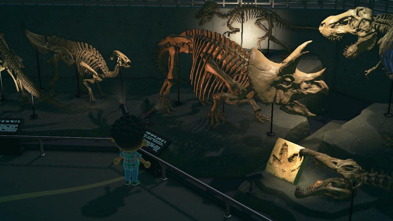 Image result for animal crossing museum dinosaur