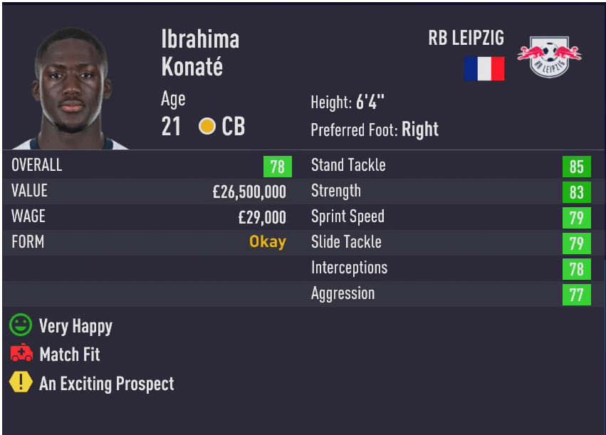 Fifa 21 Wonderkids Best Centre Backs Cb To Sign In Career Mode Outsider Gaming
