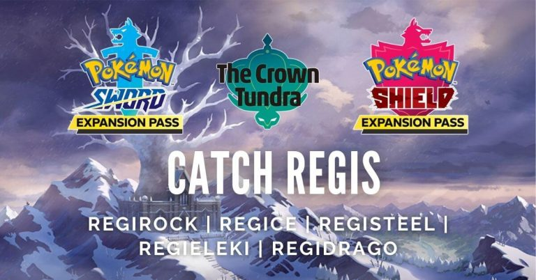 Pokemon Sword And Shield How To Solve Regi Riddles Find And Catch Shiny Regis Outsider Gaming
