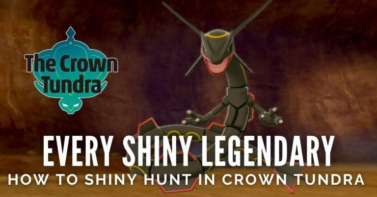 Shiny Legendary Pokemon