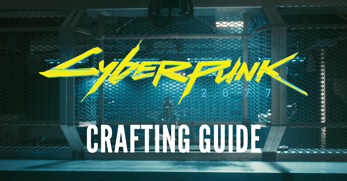 Crafting Spec