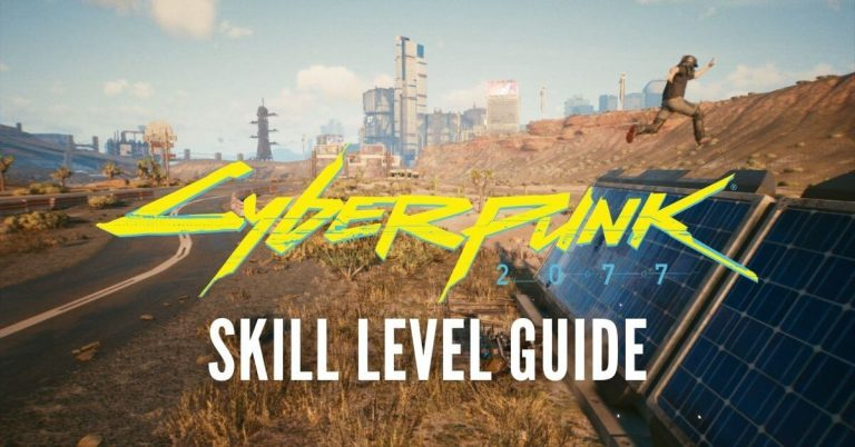 Cyberpunk 2077 Skill Level