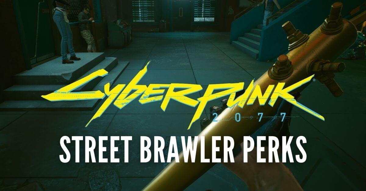Street Brawler Perks