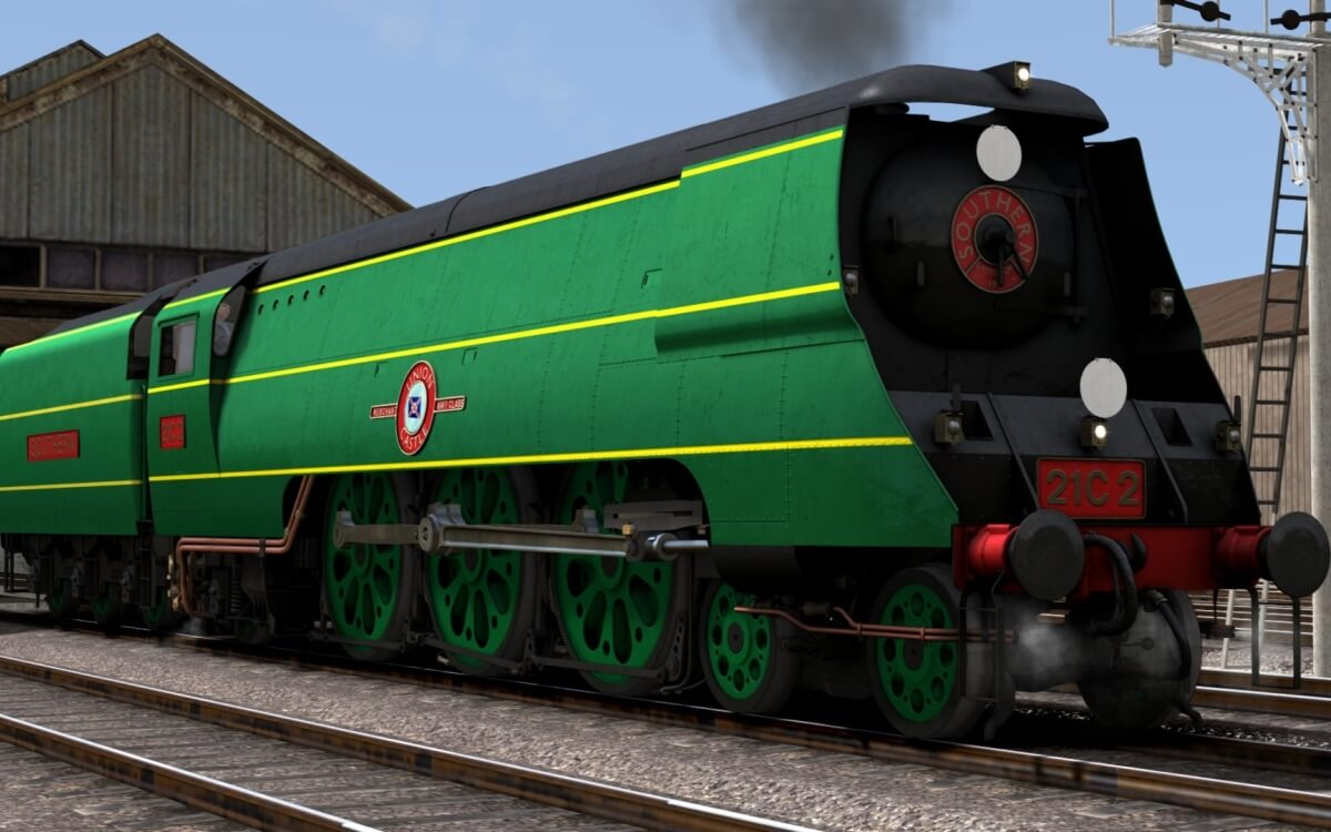 Train Simulator 2021: Bossman Games Tease Original Merchant Navy Class