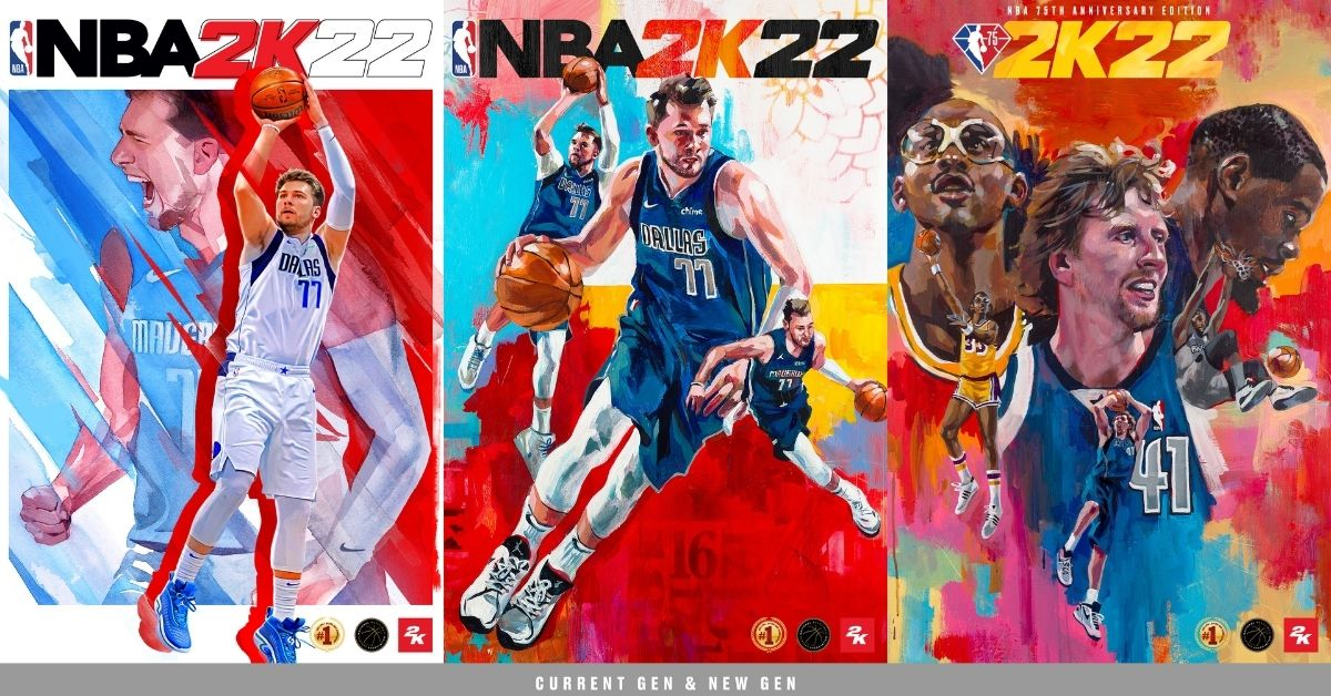 NBA 2K22 Editions Explained: Luka Doncic, Candace Parker, Other Cover Stars, and each Edition